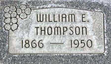THOMPSON, WILLIAM E. - Wasatch County, Utah | WILLIAM E. THOMPSON - Utah Gravestone Photos