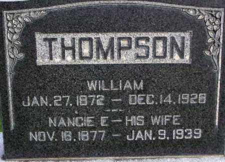 THOMPSON, NANCIE ELLEN - Wasatch County, Utah | NANCIE ELLEN THOMPSON - Utah Gravestone Photos