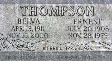 THOMPSON, WILLIAM ERNEST - Wasatch County, Utah | WILLIAM ERNEST THOMPSON - Utah Gravestone Photos