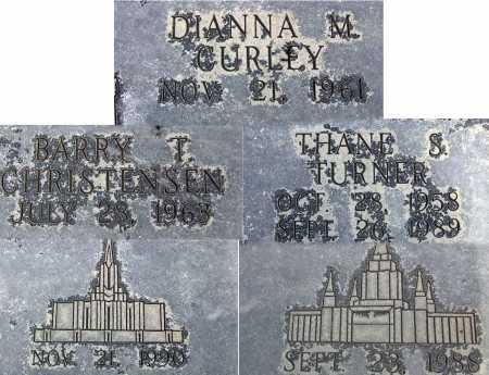 CHRISTENSEN, DIANNA M - Wasatch County, Utah | DIANNA M CHRISTENSEN - Utah Gravestone Photos