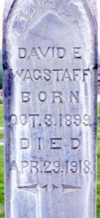 WAGSTAFF, DAVID EDWIN - Wasatch County, Utah | DAVID EDWIN WAGSTAFF - Utah Gravestone Photos
