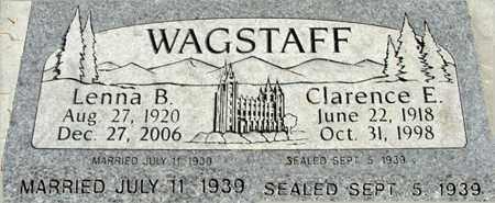 WAGSTAFF, LENNA MARY - Wasatch County, Utah | LENNA MARY WAGSTAFF - Utah Gravestone Photos