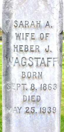 SHELLEY WAGSTAFF, SARAH ANN - Wasatch County, Utah   SARAH ANN SHELLEY WAGSTAFF - Utah Gravestone Photos