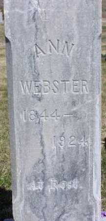 DAYBELL WEBSTER, ANN - Wasatch County, Utah | ANN DAYBELL WEBSTER - Utah Gravestone Photos
