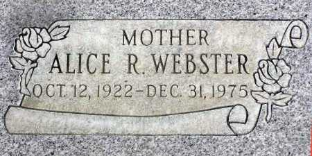 WEBSTER, ALICE R. - Wasatch County, Utah | ALICE R. WEBSTER - Utah Gravestone Photos