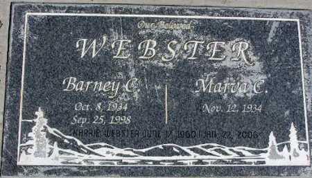 "WEBSTER, BARNEY ""C"" - Wasatch County, Utah | BARNEY ""C"" WEBSTER - Utah Gravestone Photos"