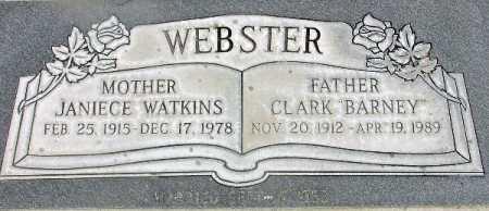 WEBSTER, CLARK BARNEY - Wasatch County, Utah | CLARK BARNEY WEBSTER - Utah Gravestone Photos