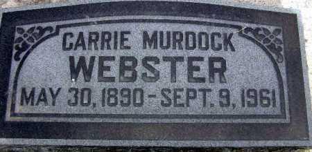 WEBSTER, CARRIE - Wasatch County, Utah | CARRIE WEBSTER - Utah Gravestone Photos