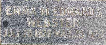 WEBSTER, EMMA MIRIAM - Wasatch County, Utah | EMMA MIRIAM WEBSTER - Utah Gravestone Photos