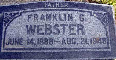 WEBSTER, FRANKLIN GILES - Wasatch County, Utah   FRANKLIN GILES WEBSTER - Utah Gravestone Photos