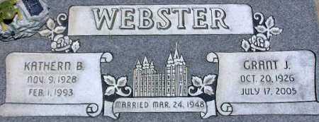 WEBSTER, GRANT JAMES - Wasatch County, Utah | GRANT JAMES WEBSTER - Utah Gravestone Photos