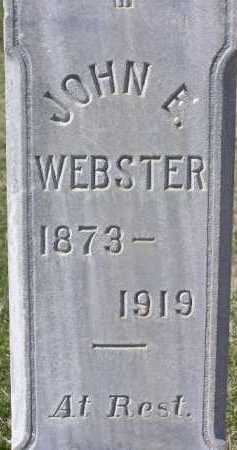WEBSTER, JOHN ENDER - Wasatch County, Utah | JOHN ENDER WEBSTER - Utah Gravestone Photos