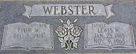 WEBSTER, LEWIS WIDDISON - Wasatch County, Utah | LEWIS WIDDISON WEBSTER - Utah Gravestone Photos