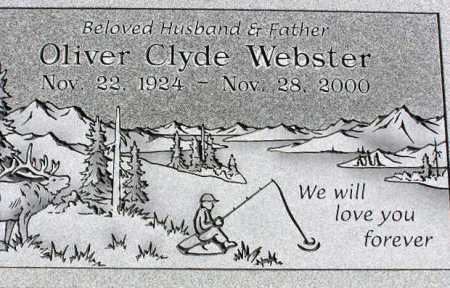 WEBSTER, OLIVER CLYDE - Wasatch County, Utah   OLIVER CLYDE WEBSTER - Utah Gravestone Photos