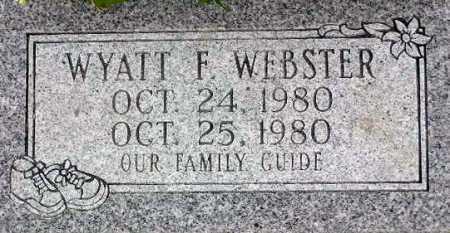 WEBSTER, WYATT F. - Wasatch County, Utah | WYATT F. WEBSTER - Utah Gravestone Photos
