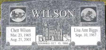 WILSON, CHETT - Wasatch County, Utah | CHETT WILSON - Utah Gravestone Photos