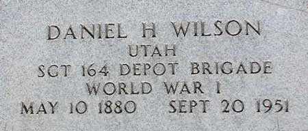 WILSON, DANIEL HAMNER - Wasatch County, Utah | DANIEL HAMNER WILSON - Utah Gravestone Photos