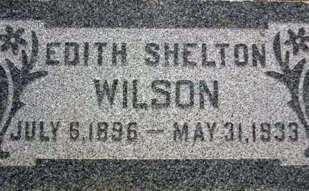 WILSON, EDITH - Wasatch County, Utah | EDITH WILSON - Utah Gravestone Photos