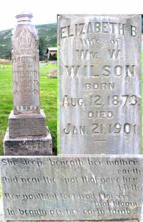 WILSON, ELIZABETH BAILEY - Wasatch County, Utah | ELIZABETH BAILEY WILSON - Utah Gravestone Photos