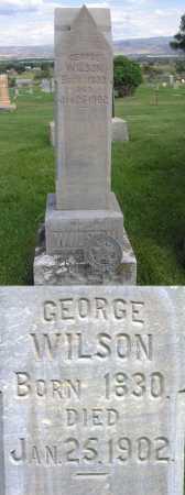 WILSON, GEORGE - Wasatch County, Utah | GEORGE WILSON - Utah Gravestone Photos