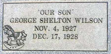 WILSON, GEORGE SHELTON - Wasatch County, Utah | GEORGE SHELTON WILSON - Utah Gravestone Photos