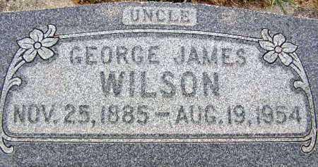 WILSON, GEORGE JAMES - Wasatch County, Utah   GEORGE JAMES WILSON - Utah Gravestone Photos