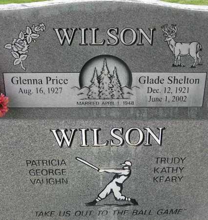 WILSON, GLADE SHELTON - Wasatch County, Utah | GLADE SHELTON WILSON - Utah Gravestone Photos
