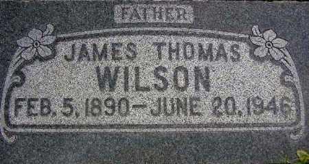 WILSON, JAMES THOMAS - Wasatch County, Utah   JAMES THOMAS WILSON - Utah Gravestone Photos