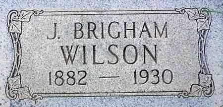 WILSON, JAMES BRIGHAM JR. - Wasatch County, Utah | JAMES BRIGHAM JR. WILSON - Utah Gravestone Photos