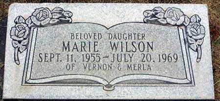 WILSON, MARIE - Wasatch County, Utah | MARIE WILSON - Utah Gravestone Photos