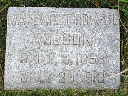 POWELL WILSON, MARGARET - Wasatch County, Utah   MARGARET POWELL WILSON - Utah Gravestone Photos
