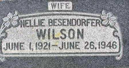 WILSON, NELLIE - Wasatch County, Utah | NELLIE WILSON - Utah Gravestone Photos