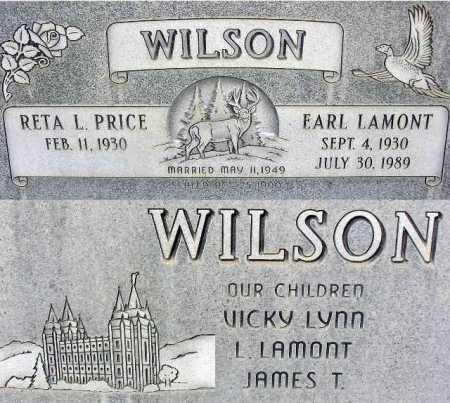 WILSON, EARL LAMONT - Wasatch County, Utah | EARL LAMONT WILSON - Utah Gravestone Photos