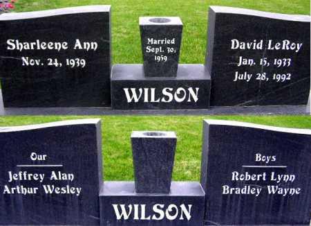 DAVIS WILSON, SHARLEENE ANN - Wasatch County, Utah | SHARLEENE ANN DAVIS WILSON - Utah Gravestone Photos