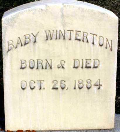 WINTERTON, BABY - Wasatch County, Utah   BABY WINTERTON - Utah Gravestone Photos