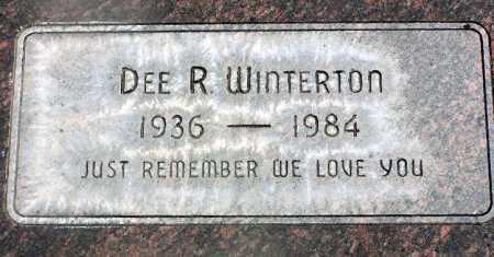 WINTERTON, DEE R. - Wasatch County, Utah | DEE R. WINTERTON - Utah Gravestone Photos