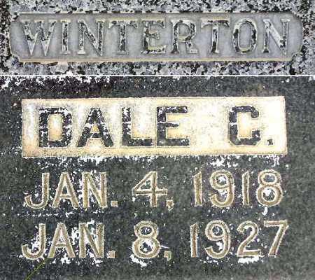 WINTERTON, DALE CARLILE - Wasatch County, Utah | DALE CARLILE WINTERTON - Utah Gravestone Photos