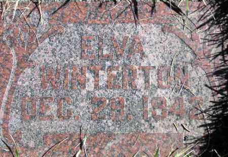 WINTERTON, ELVA - Wasatch County, Utah | ELVA WINTERTON - Utah Gravestone Photos