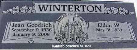 WINTERTON, ELDON W. - Wasatch County, Utah | ELDON W. WINTERTON - Utah Gravestone Photos