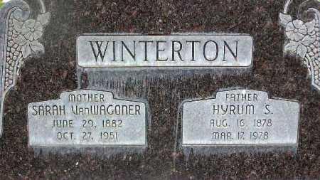 WINTERTON, HYRUM SHURTLIFF - Wasatch County, Utah | HYRUM SHURTLIFF WINTERTON - Utah Gravestone Photos