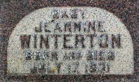 WINTERTON, JEANNINE - Wasatch County, Utah | JEANNINE WINTERTON - Utah Gravestone Photos