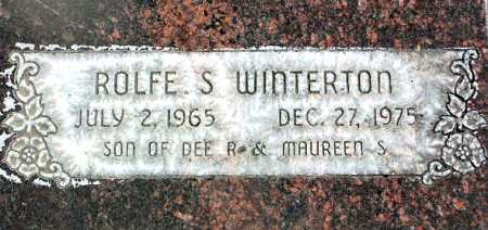 "WINTERTON, ROLFE ""S"" - Wasatch County, Utah | ROLFE ""S"" WINTERTON - Utah Gravestone Photos"