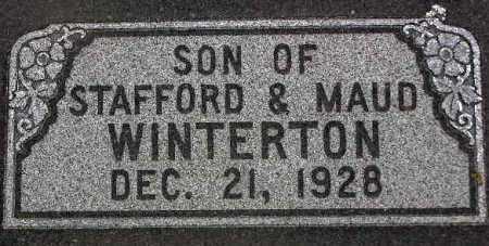 WINTERTON, SON - Wasatch County, Utah | SON WINTERTON - Utah Gravestone Photos