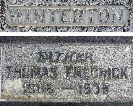 WINTERTON, THOMAS FREDRICK - Wasatch County, Utah | THOMAS FREDRICK WINTERTON - Utah Gravestone Photos