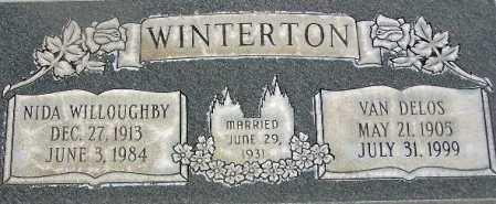 WINTERTON, VAN DELOS - Wasatch County, Utah | VAN DELOS WINTERTON - Utah Gravestone Photos