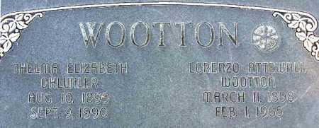 OHLWILER WOOTTON, THELMA ELIZABETH - Wasatch County, Utah | THELMA ELIZABETH OHLWILER WOOTTON - Utah Gravestone Photos