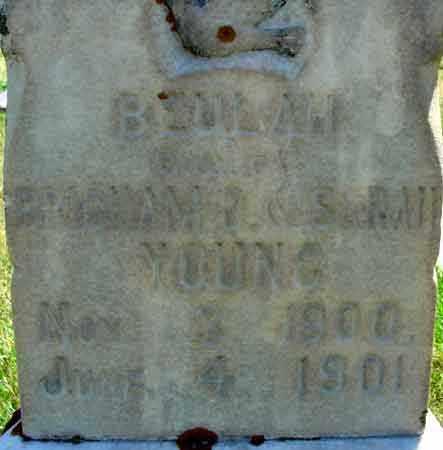YOUNG, BEULAH - Wasatch County, Utah | BEULAH YOUNG - Utah Gravestone Photos