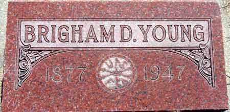 YOUNG, BRIGHAM DAVID - Wasatch County, Utah | BRIGHAM DAVID YOUNG - Utah Gravestone Photos