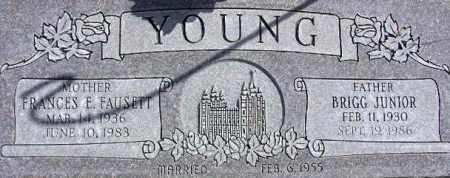 YOUNG, FRANCES ELLEN - Wasatch County, Utah | FRANCES ELLEN YOUNG - Utah Gravestone Photos