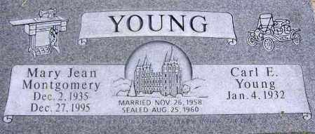 YOUNG, MARY JEAN - Wasatch County, Utah | MARY JEAN YOUNG - Utah Gravestone Photos